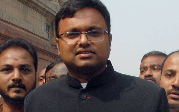 CBI, arrest, Karti Chidambaram, money laundering, NewsMobile, Mobile News, India