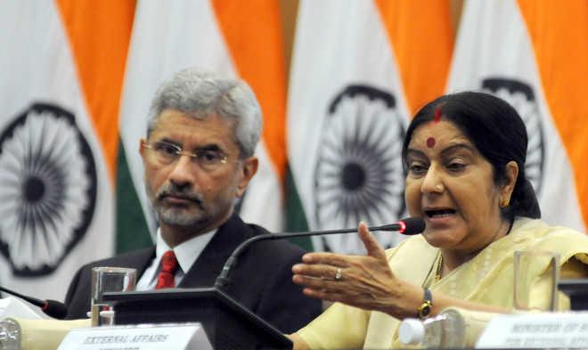 External Affairs Minister, Sushma Swaraj, Foreign Secretary, S.Jaishankar, Prime Minister, Narendra Modi, Indian Envoys