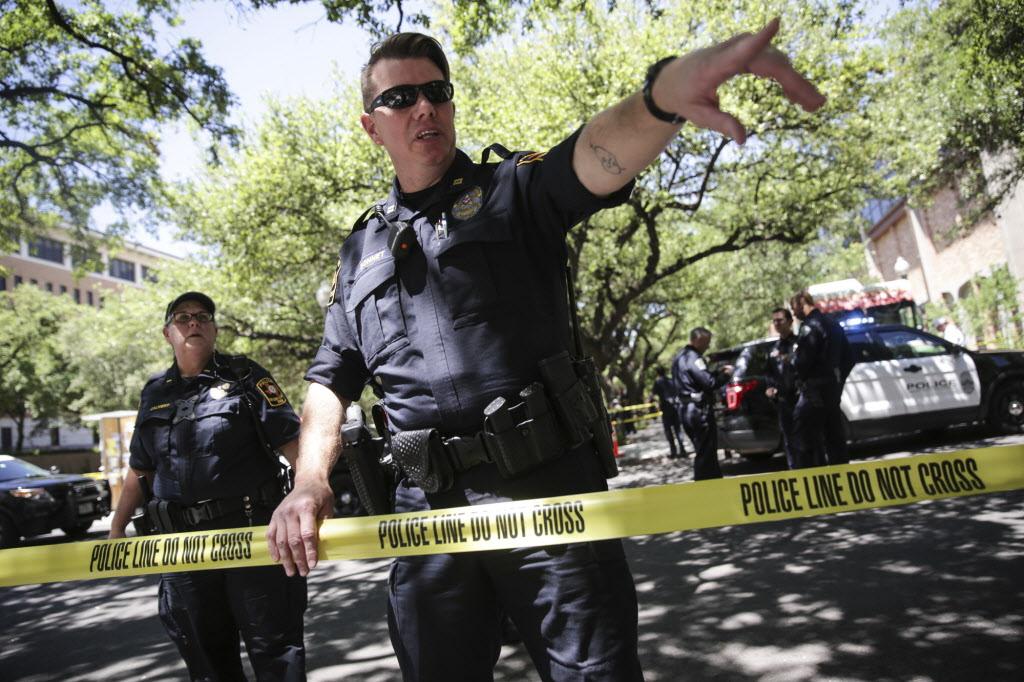 stabbing attack, University of Texas, Austin, one killed, three injured