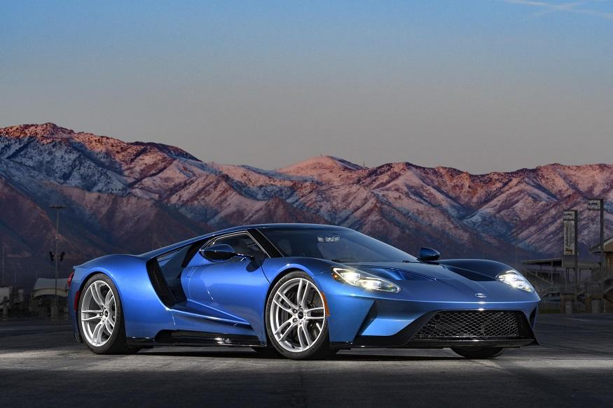 Ford GT, V8-powered car, McLaren, Ferrari, 647hp, 746Nm