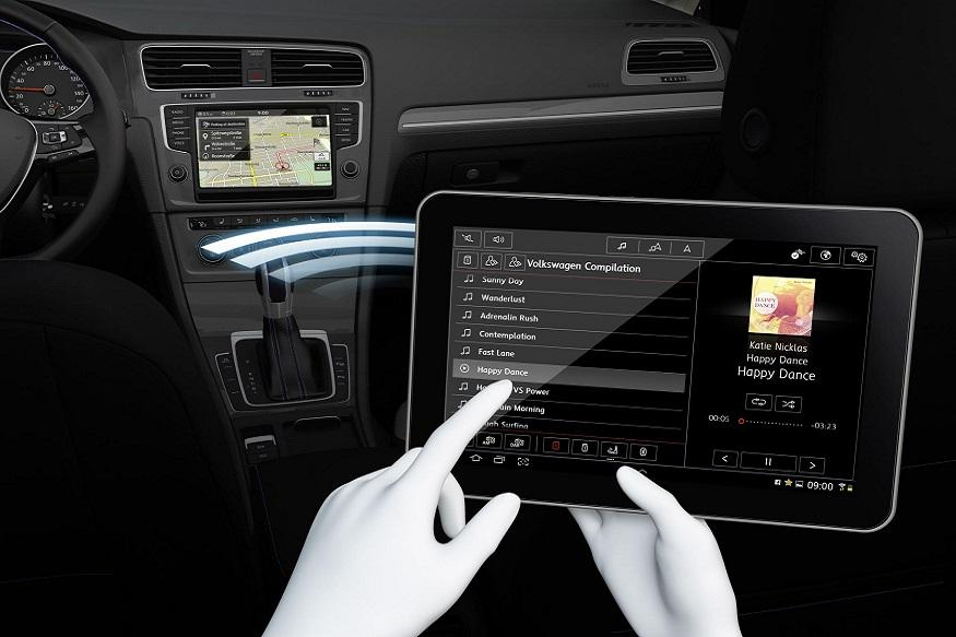 Volkswagen's Media Control app, Volkswagen, Media Control, app, DJ, back-seat drivers, Taylor Swift, Drake, Ed Sheeran