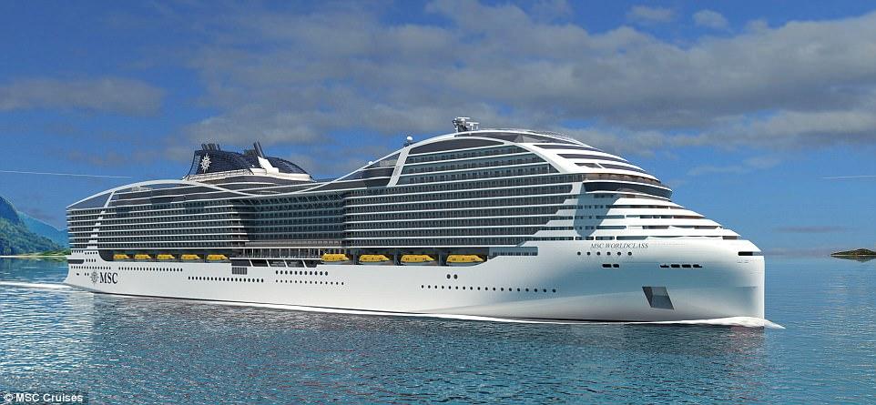 Biggest Passenger Capacity Cruise Ship Revealed Newsmobile