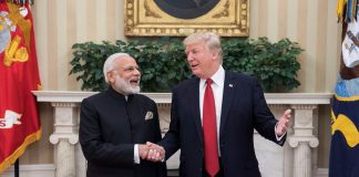 PM Modi, trilateral, meeting, United States, President, Donald Trump, Japan, Shinzo Abe, sidelines, G20, Argentina, NewsMobile, Mobile, News, India