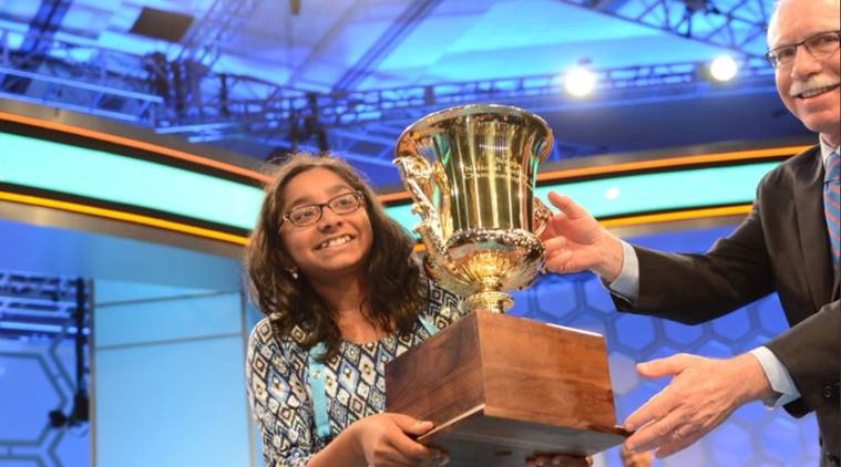 Indian American, Ananya Vinay, Fresno, California, 90th Scripps National Spelling Bee, Oxon Hill