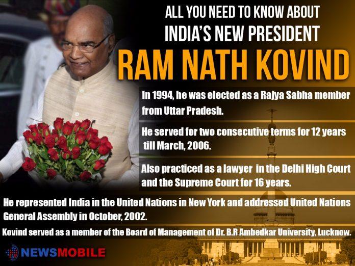 Ram Nath Kovind, President, India, 14th President