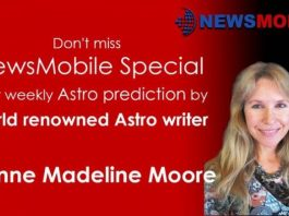 Joanne Madeline Moore, Astro, weekly horoscope, weekly prediction