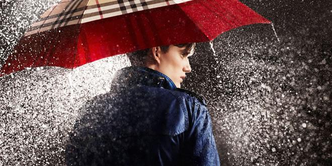 Dear men beat the rain in style