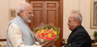 Prime Minister, Narendra Modi, Pranab Mukherjee, President, Letter