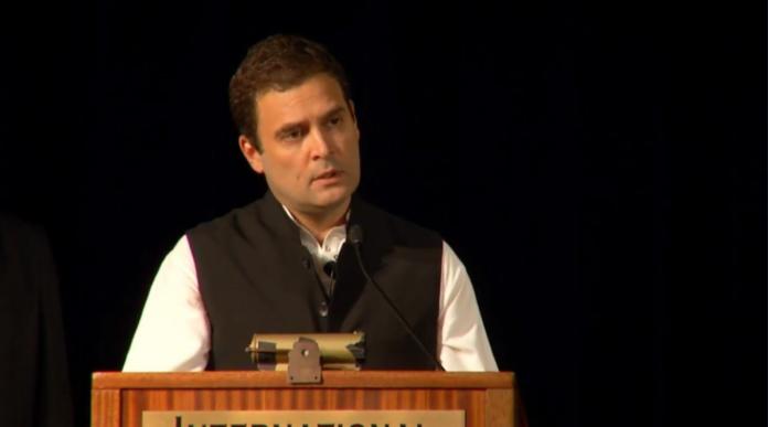 Rahul Gandhi, government, address, University of California, UC Berkeley, Berkeley, Prime Minister, Narendra Modi, BJP, Modi Government, GST, Demonetisation, NewsMobile, Mobile News, India