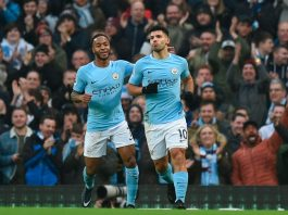 Sergio Aguero, Gabriel Jesus, Football, Premier League, England, Manchester CIty, Bournemouth, Raheem Sterling, Danilo