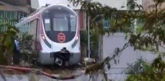 Magenta Line, Metro Station, Metro, Train, Crash, Accident, Trial, NewsMobile, CityScape