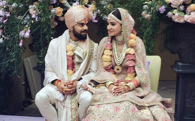 Anushka sharma and virat kohlis reception invite is as dreamy as wedding virushka reception invite sabyasachi newsmobie entertainment stopboris Gallery