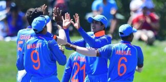 ICC U19 World Cup Semi-final, India, beat, Pakistan, 203-runs, Australia, finals, ICC U19, World Cup, Semi-final, NewsMobile, Mobile News, India