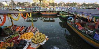 India, floating, market, Kolkata, West Bengal, Kolkata Metropolitan Development Authority, KMDA, NewsMobile, Mobile News, Travel