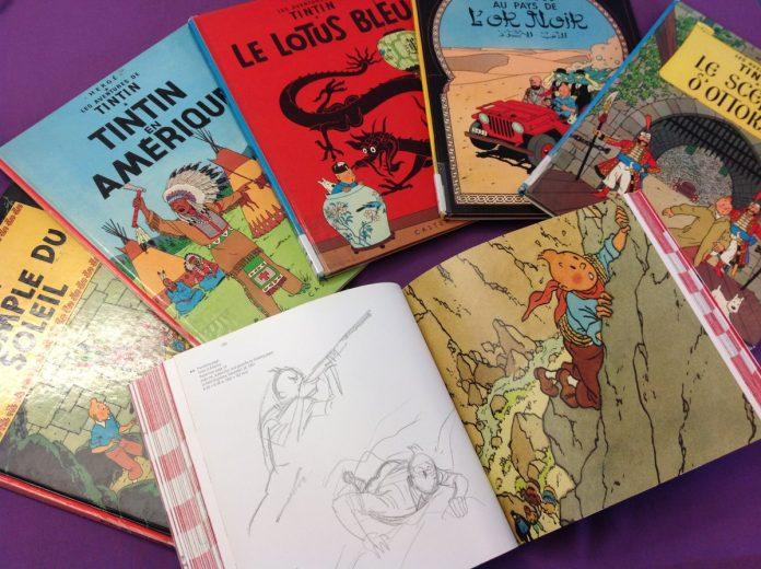 Tintin, Societ Union, comic