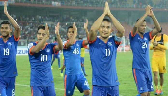 India, 3 places, 102, FIFA ranking, FIFA, Brazil, Portugal, Argentina, Belgium, Germany, Sports, Football, NewsMobile, Mobile News, India