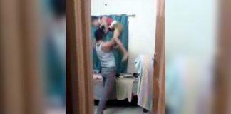 Man, punishes, 10 year old, Karnataka, Police, video, mother