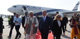 PM Modi, roadshow, Israeli counterpart, Israel, Prime Minister, Benjamin Netanyahu, Ahmedabad, Narendra Modi, NewsMobile, Mobile News, India