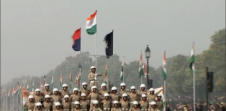 R-Day 2018, BSF, women, contingent, won hearts, Republic Day, Parade, NewsMobile, Bike, Mobile news, India