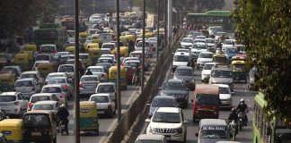 Traffic Jam, Delhi, Restrictions, Republic Day, ASEAN Summit, NewsMobile, CityScape