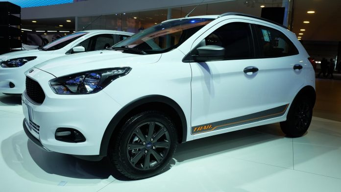 Ford to unveil new compact utility vehicle on January 31