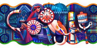 Google, Doodle, India, 69th Republic Day, Republic Day, News for kids, Kids News, India
