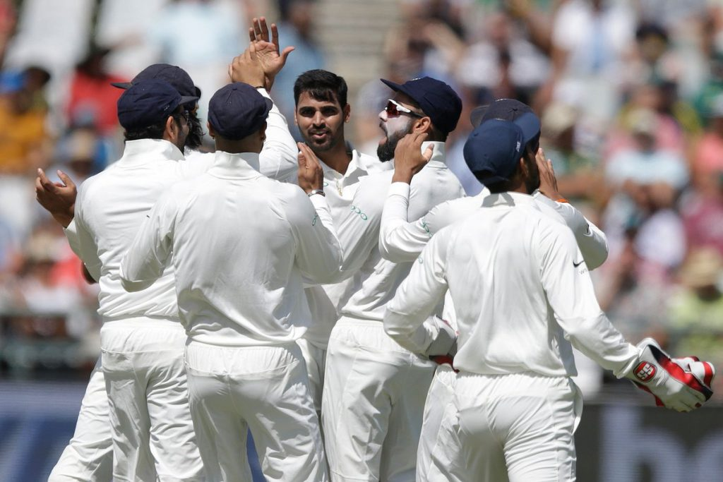 Bhuvneshwar Kumar India South Africa Cricket Test Freedom AB De