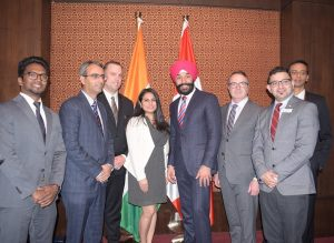 Canada, minister, Navdeep Bains, launch, Maple Assist, App, Start o Sphere, Startup, NewsMobile, Mobile News, India