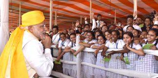 Modi, Children, Pariksha Pe Charcha, Session, Interactive Session, NewsMobile, Mobile News India