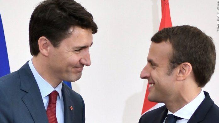 Justin Trudeau, Canadian Prime Minister, Emmanuel Macron, French president, India, PM Modi, visit to India, China, Europe, Canada