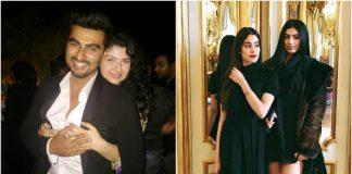 Anshula, Arjun, Boney Kapoor, Jahnvi, Khushi, SriDevi, Home, Entertainment