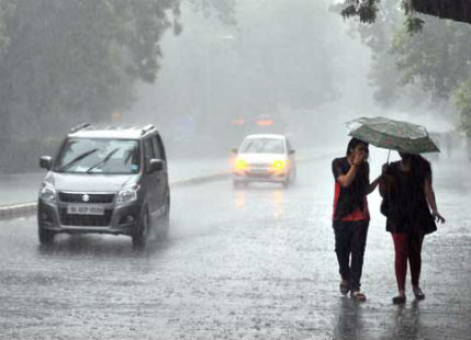 Rain, Delhi, CityScape, MeT, Department, Predicted, NewsMobile, Mobile News, India