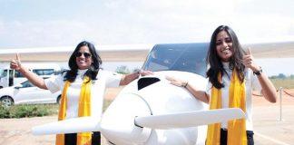 Indian aviation, Mother daughter duo, Audrey maben, Bengaluru, gloval record, Sinus 912 light sports aircraft