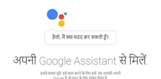 Google Assistant, Hindi