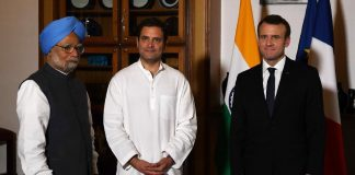 Rahul Gandhi, Macron, Politics, President, Congress, France, World, NewsMobile, Mobile News