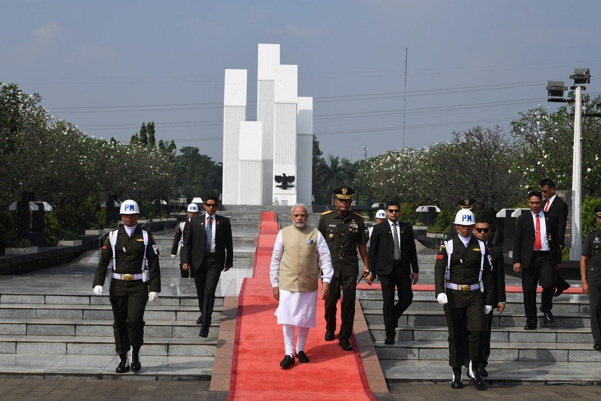 Kalibata National Heroes Cemetery, Indonesia, Prime Minister, Narendra Modi, Malaysia, Singapore, India, NewsMobile, Mobile News, India