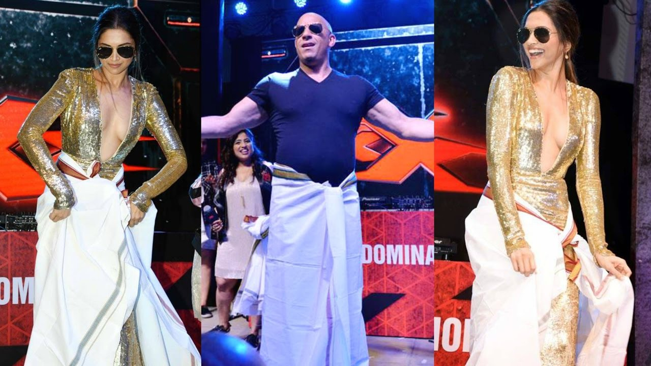 Deepika Padukone, XXX4, Ven Diesel, Lungi Dance, Bollywood, Hollywood, Entertainment, NewsMobile, Mobile, News, India