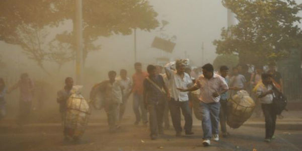 Dust storm this week in Delhi may bring some relief