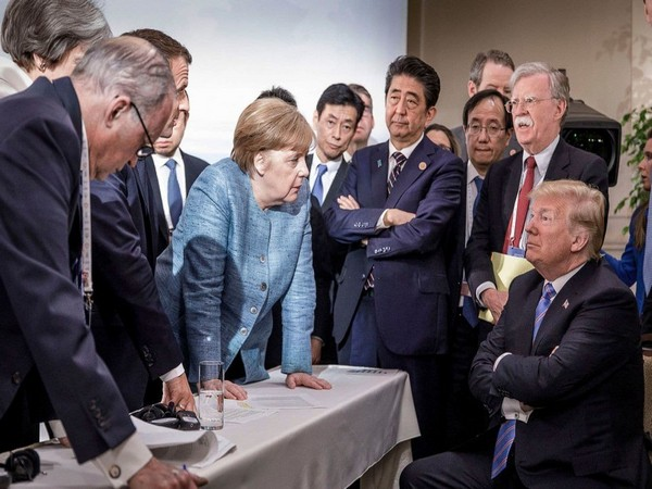 Canada, German Chancellor Angela Merkel, Instagram, US President Donald Trump, Elena Cresci, Shinzo Abe, La Malbaie, Kim Jong Un, US National Security Adviser John Bolton, G-7 allies, G-7, Canada,