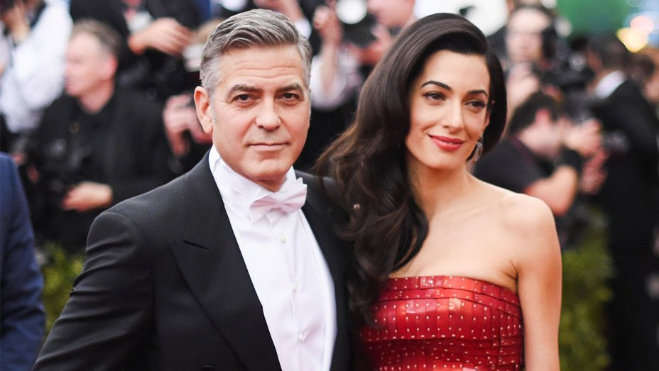 George Clooney and wife donate 100,000 USD