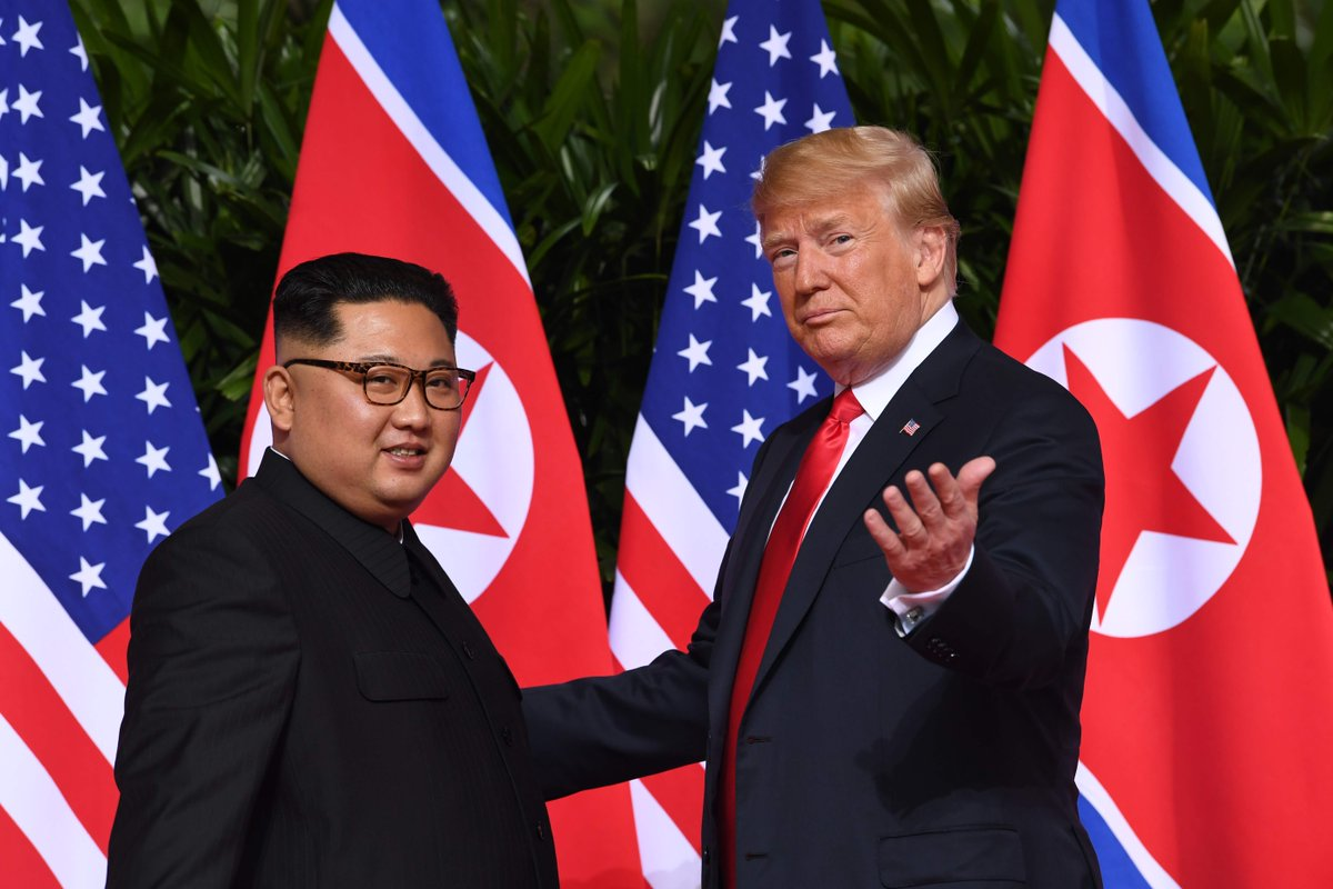 Donald Trump, sanctions, North Korea, summit, Kim Jong-un, Singapore, denuclearisation, nuclear arsenal, Pyongyang, N Korea sanctions, US President,
