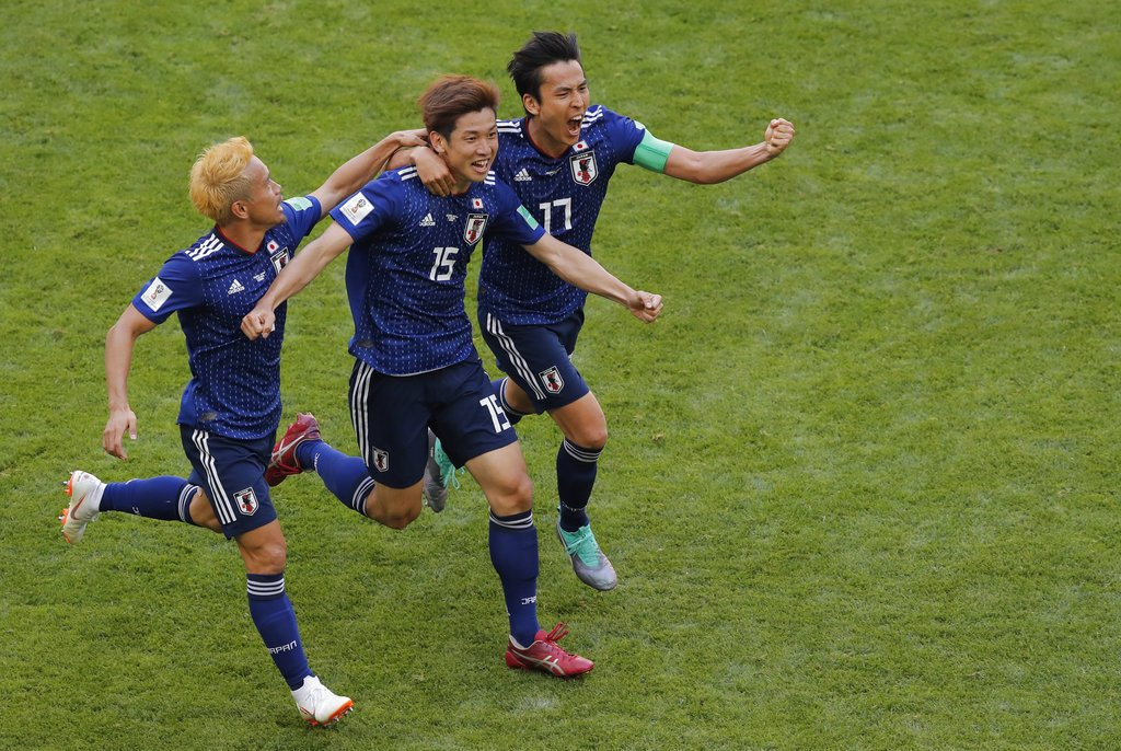 Japan, Colombia, NewsMobile, FIFA, World Cup, 2018. Mobile news, Sports, India, Russia, South America, Asia