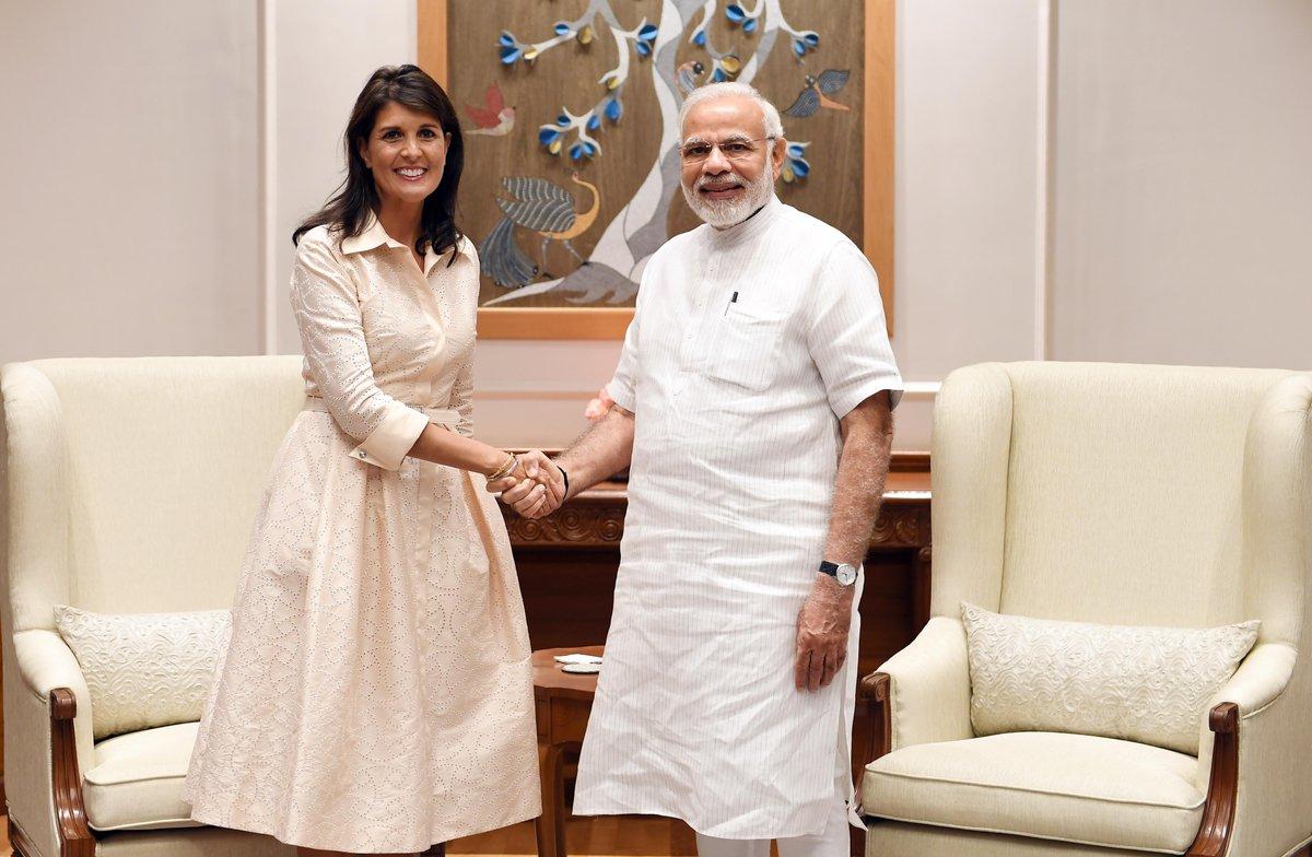 Nikki Haley, PM Modi, US, Ambassador, United Nations, NewsMobile, Mobile News, India, Prime Minister, Narendra Modi