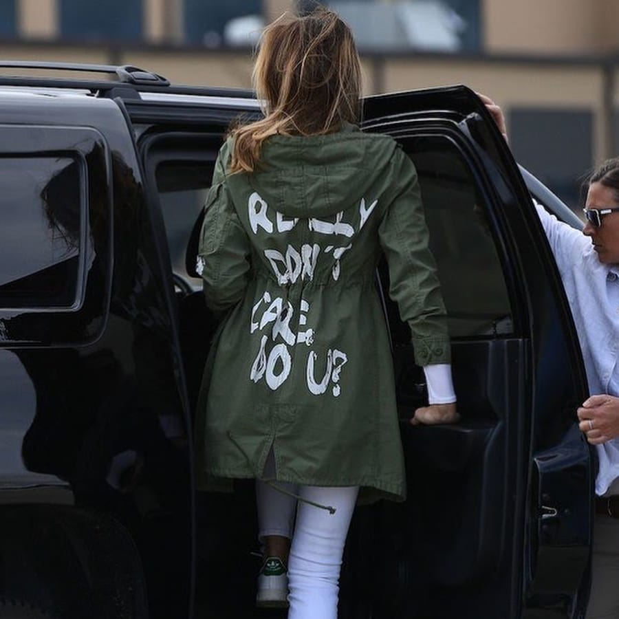 Melania Trump, jacket, controversy, President, Donald Trump, United States, First Lady, NewsMobile, Mobile News, India