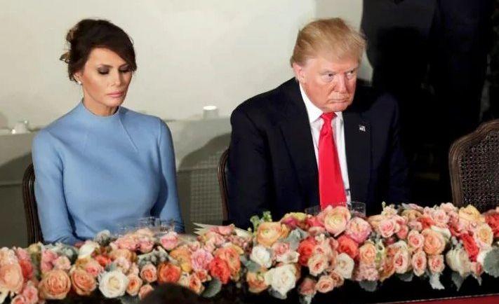 Melania Trump, Camp David, Donald Trump, Maryland, White House,