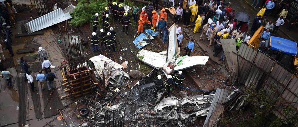 Mumbai, Maharashtra, plane crash, Ghatkopar, death, plane crash deaths,