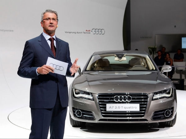 Rupert Stadler, Audi, CEO, Auto, Business, NewsMobile, Mobile news, India, Emission Scandal, India