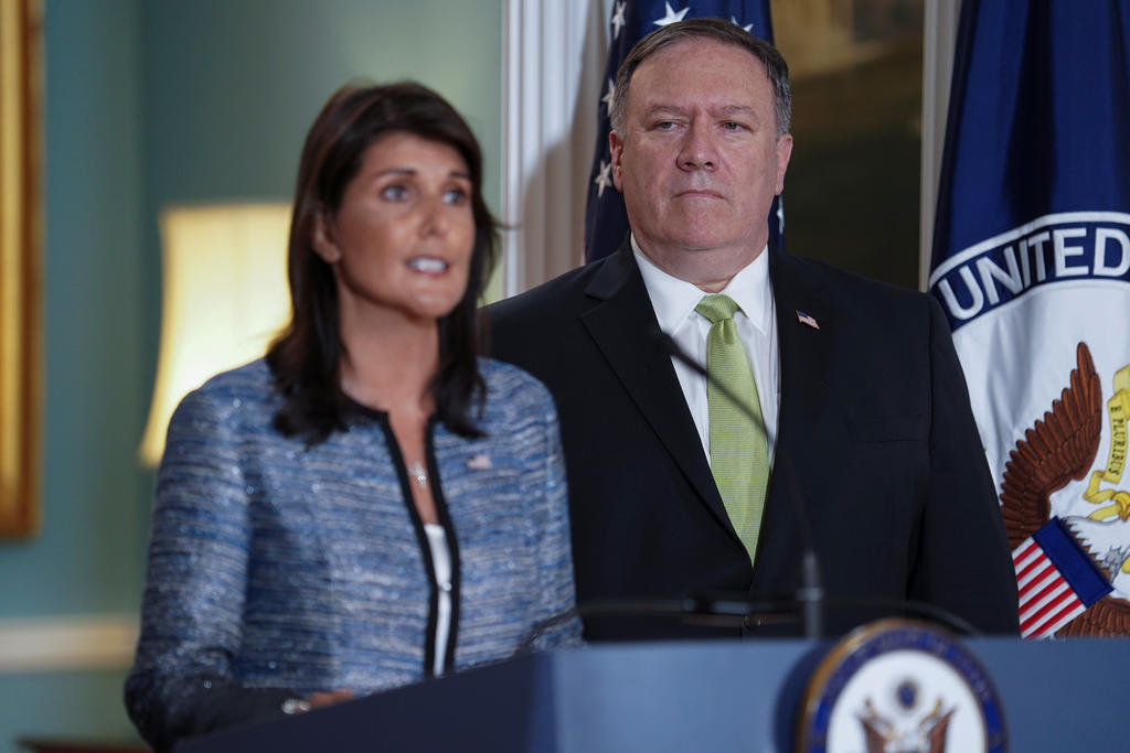 United States of America withdraws from UN Human Rights Council