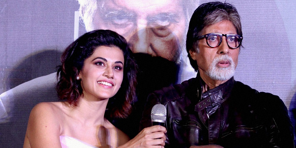Amitabh Bachchan and Tapsee Pannu once again in 'Badla'