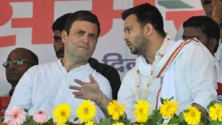 Tejashwi Yadav, advice, Rahul Gandhi, JDU, Congress, Alliance, NewsMobile, Mobile news, India